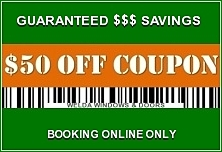 Book your FREE in-home estimate online today and get an Instant Money Saving Coupon