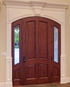 Wood doors toronto residential wooden doors installation for Residential wood doors