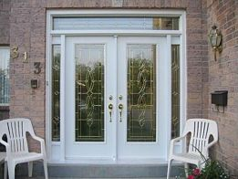 Steel Entrance Door. Toronto, Barrie, Brampton